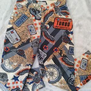 Vintage Mondi graphic design lightweight jeans